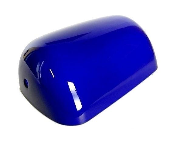 Paralume lampada ministeriale ricambio grande blu
