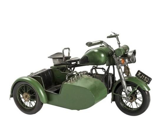 Modellino sidecar