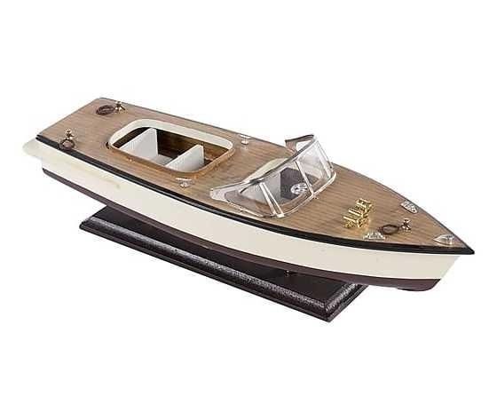 Modellino di motoscafo nautico