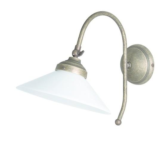 Applique in ottone 1 luce