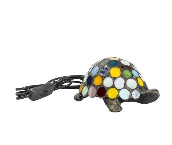 Lampada da tavolo Tiffany tartaruga