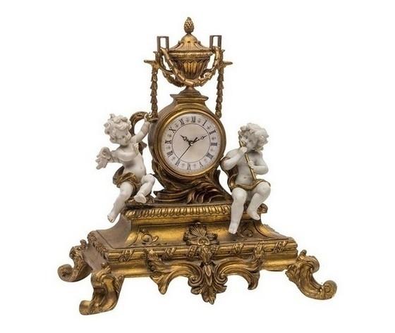 Orologio da appoggio stile barocco