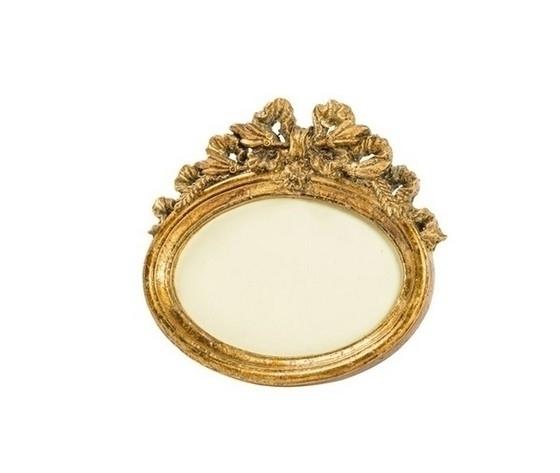 Portafoto barocco oro ovale