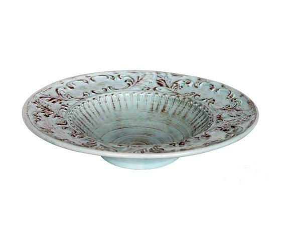 Insalatiera ceramica turchese