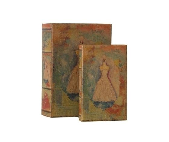 Set 2 scatole porta oggetti Atelier