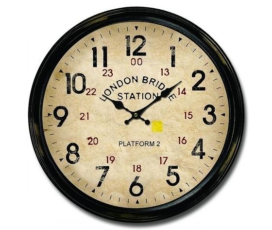 Orologio da parete London Station