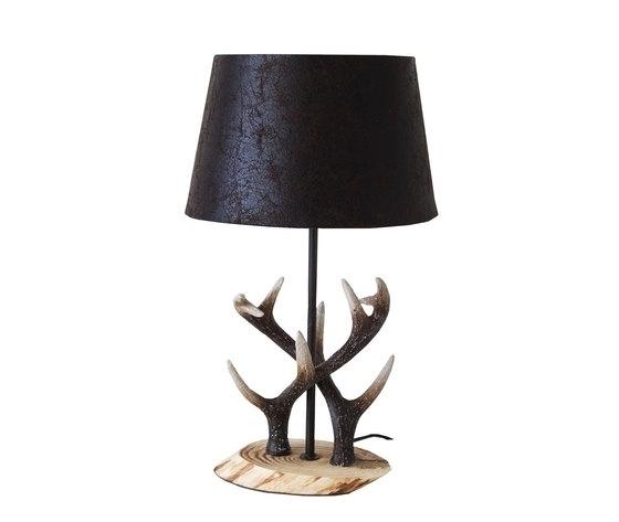 Lampada da tavolo cervo Stile Country