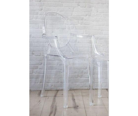 Sedie Trasparenti Con Braccioli.Sedia Con Braccioli In Plexiglass Trasparente Set Di Due Sedie