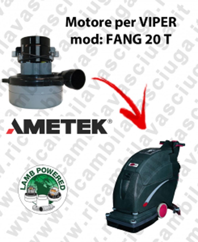 FANG 20 T Motore de aspiración LAMB AMETEK para fregadora VIPER