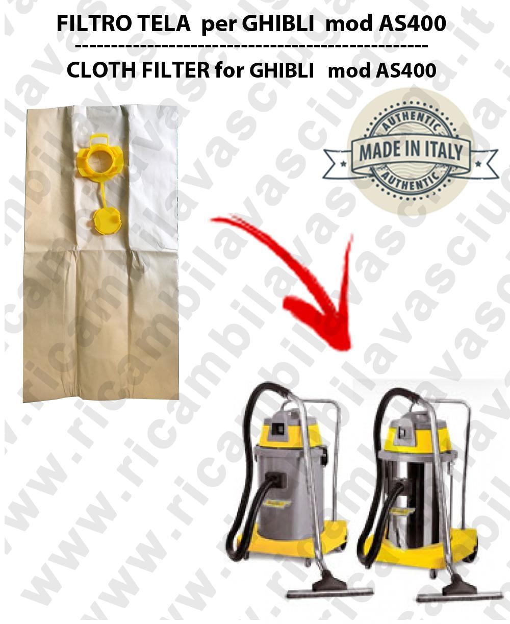 Papierfilter liter 19 mit stopper 10 Stücke für Staubsauger GHIBLI AS400