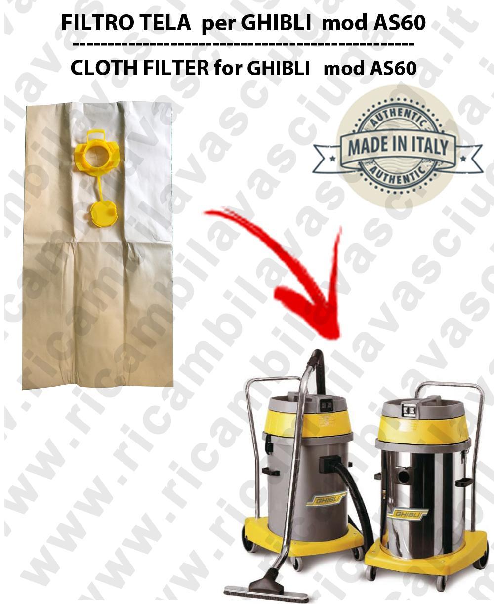 Papierfilter liter 19 mit stopper 10 Stücke für Staubsauger GHIBLI AS60/AS600