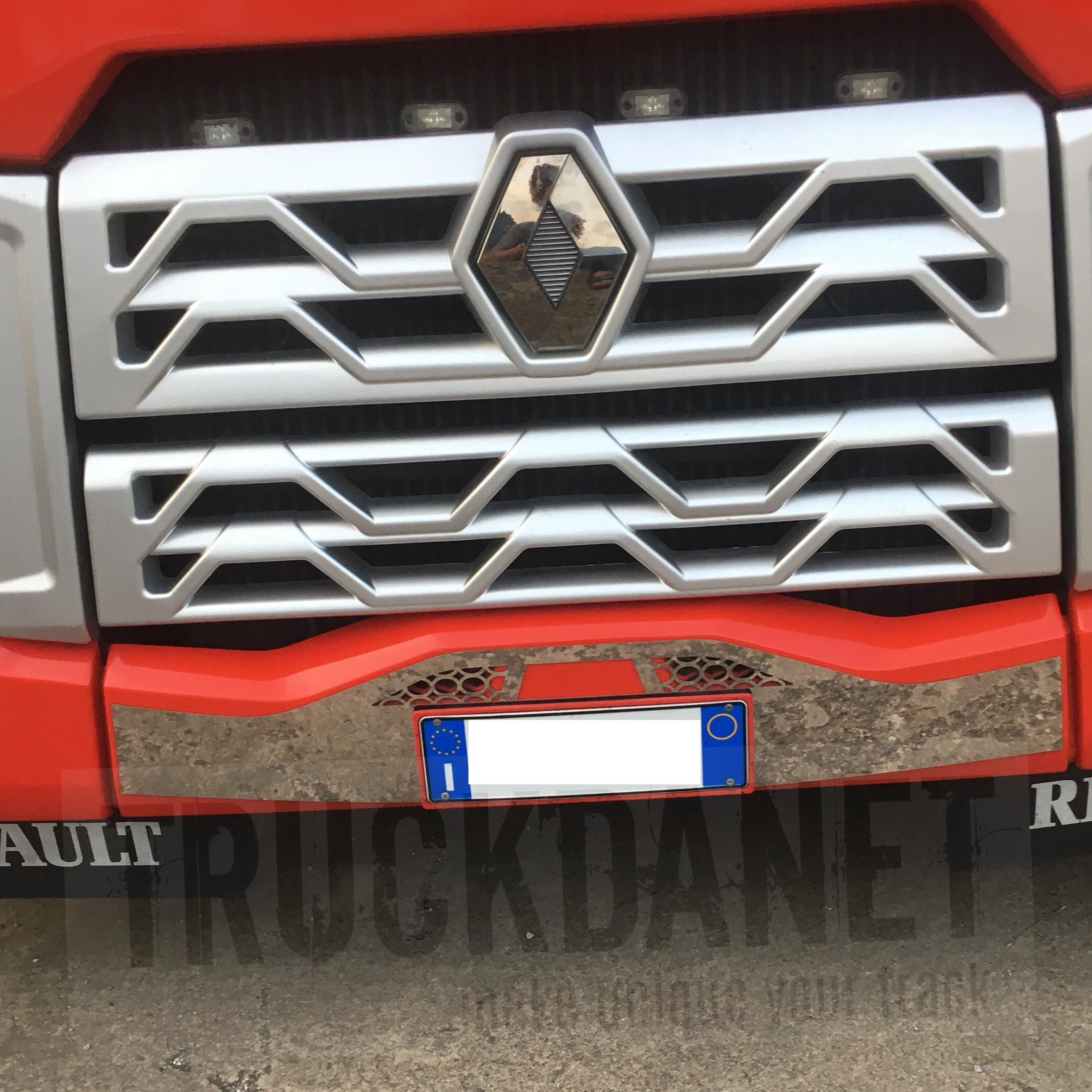 RENAULT Portatarga (per Renault Trucks)