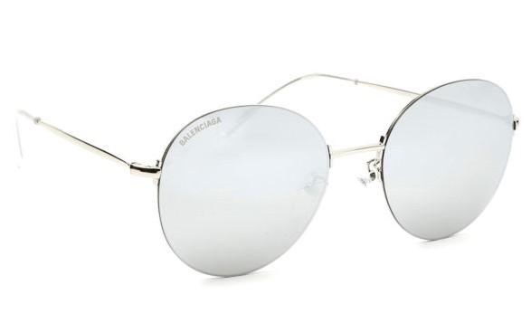 Balenciaga - Occhiale da Sole Unisex, Silver/Silver Shaded  BB0016SK  002  C55