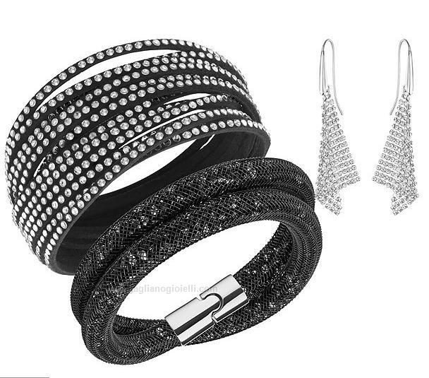 Set bracciali -Orecchino  Swarovski 5184488