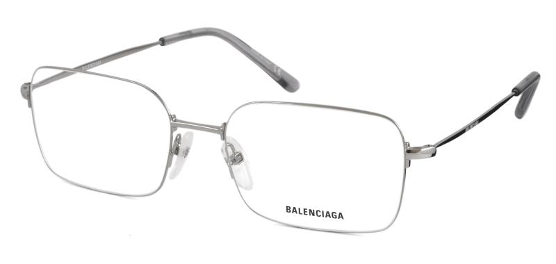 Balenciaga - Occhiale da Vista Unisex, Silver  BB0033O  002  C56