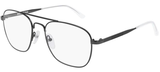 Balenciaga - Occhiale da Vista Unisex, Ruthenium (Grey)  BB0037O  003  C55