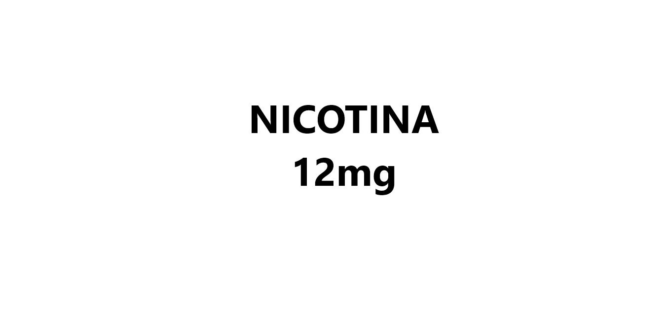 Nicotina 12mg