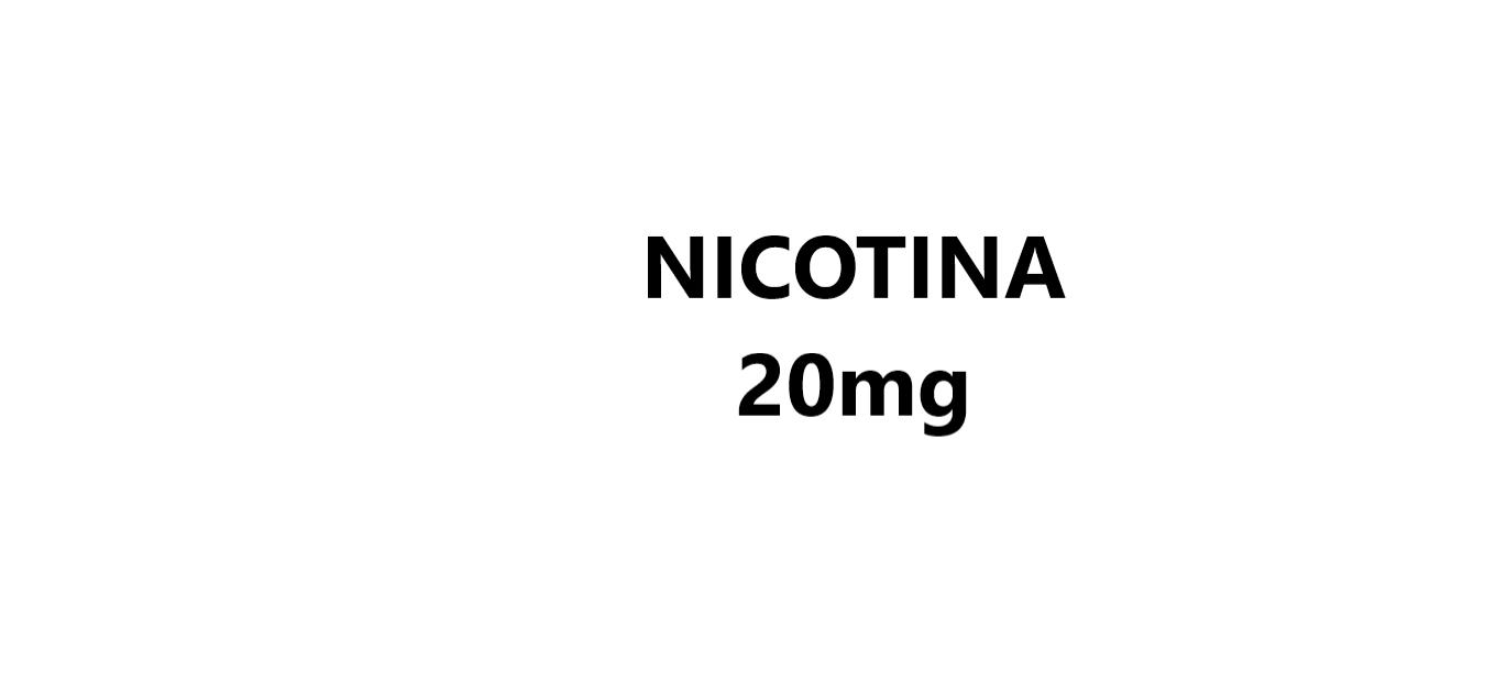 Nicotina 20mg