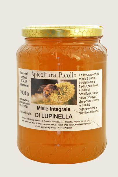 Miele integrale di lupinella 1 kg