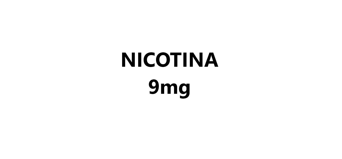 Nicotina 9mg