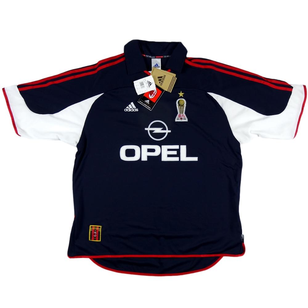 1999-00 AC Milan Maglia Terza #41 J. Mari XL *Nuova