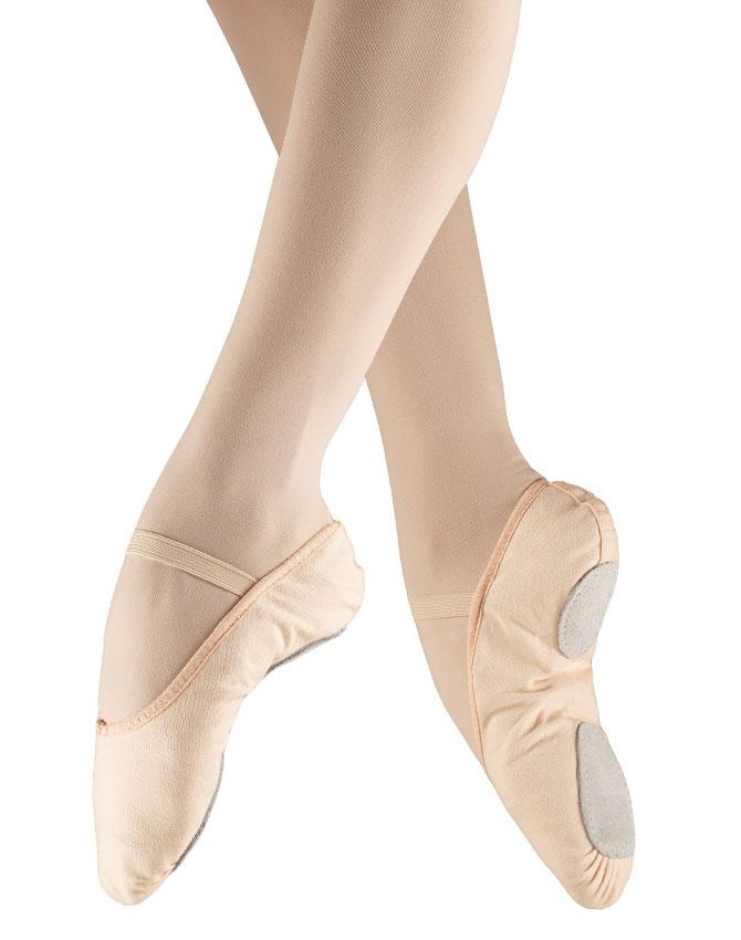 So Dança Scarpe da Mezza punta in Tela Suola divisa