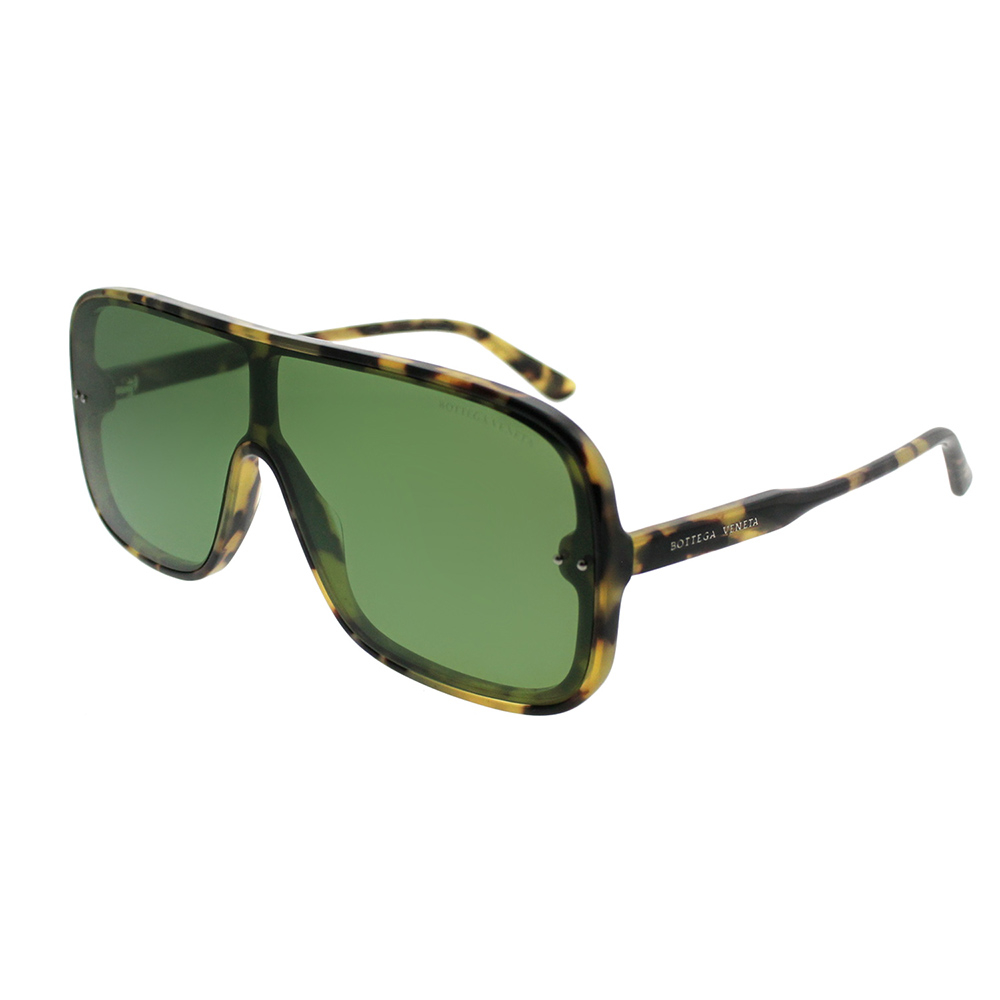 Bottega Veneta - Occhiale da Sole Uomo, Havana/Green Shaded  BV0167S-004  C54