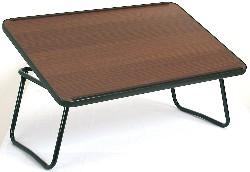 Vassoio da letto con leggio legno scuro
