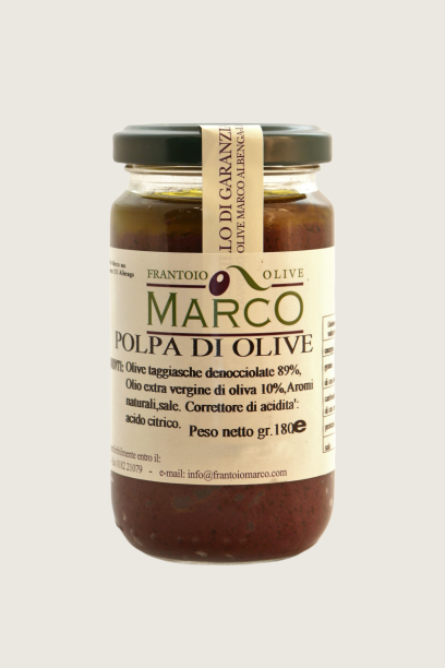 Polpa di olive taggiasche 180 g