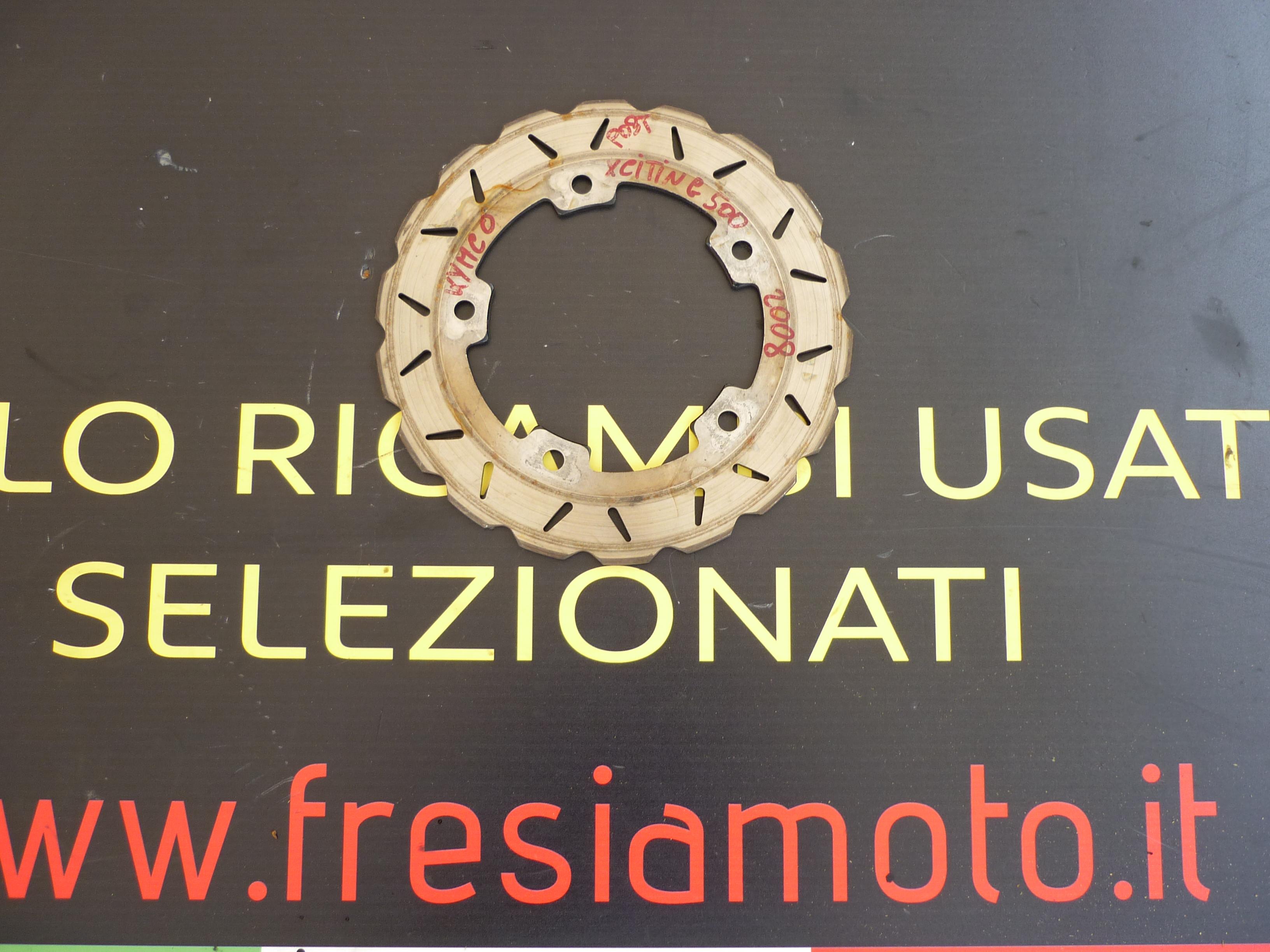 DISCO FRENO USATO KYMCO XCITING 500 ANNO 2008