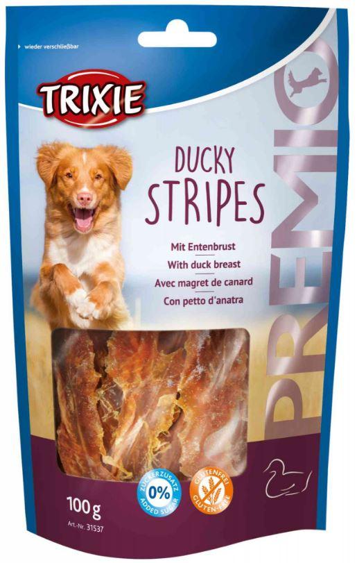 PREMIO Ducky Stripes - Snack con anatra per cani