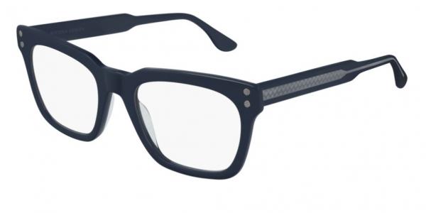 Bottega Veneta - Occhiale da Vista Uomo, Blue Transparent  BV0240O-003  C51