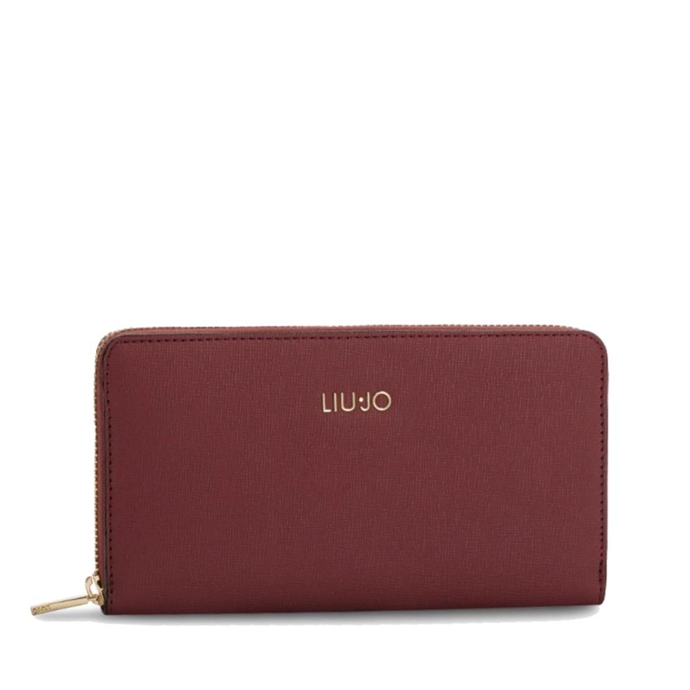 Portafoglio XL Zip Around dark red - LIU JO