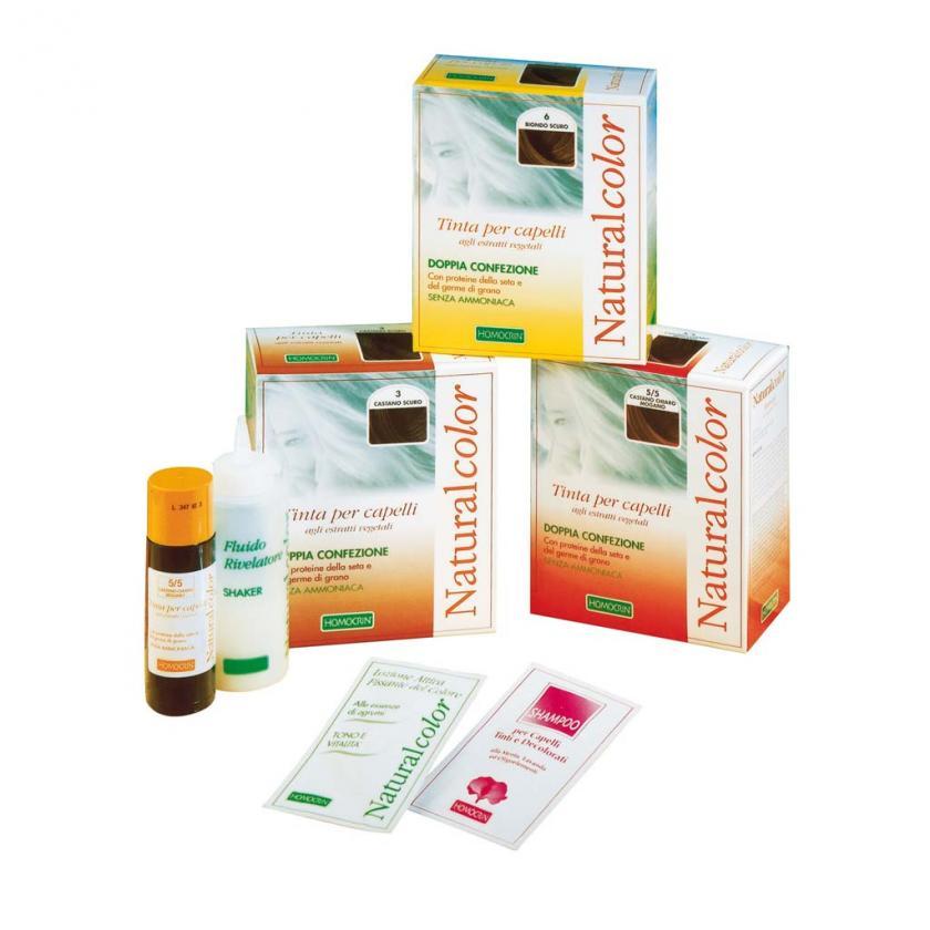 NATURALCOLOR Tinte per capelli agli estratti vegetali- Homocrin-Specchiasol