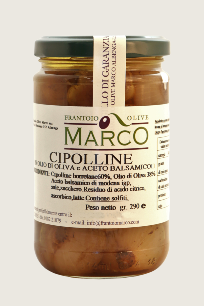 Cipolline in aceto balsamico