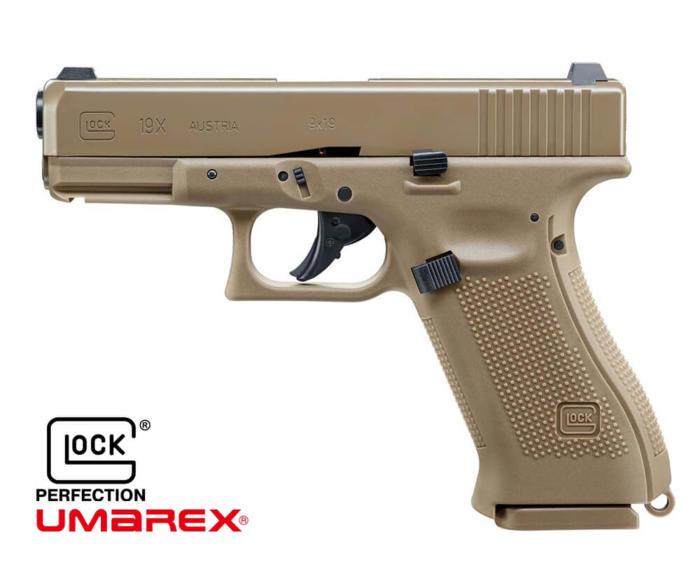 Pistola Umarex Glock 19 X blowback = CN 00044