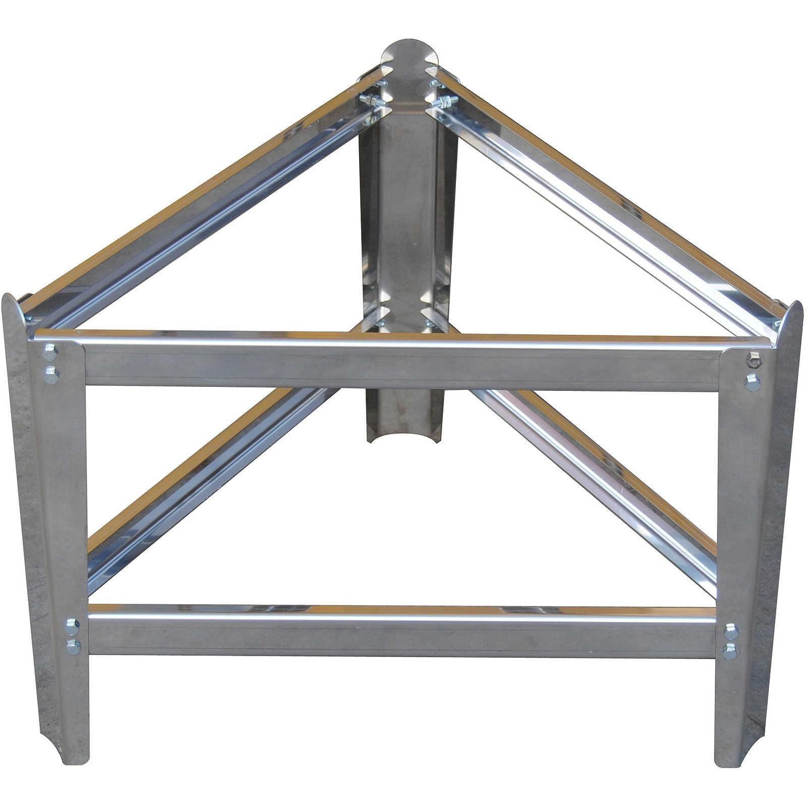 Piede per contenitore in acciaio inox da lt.50 a lt.1000