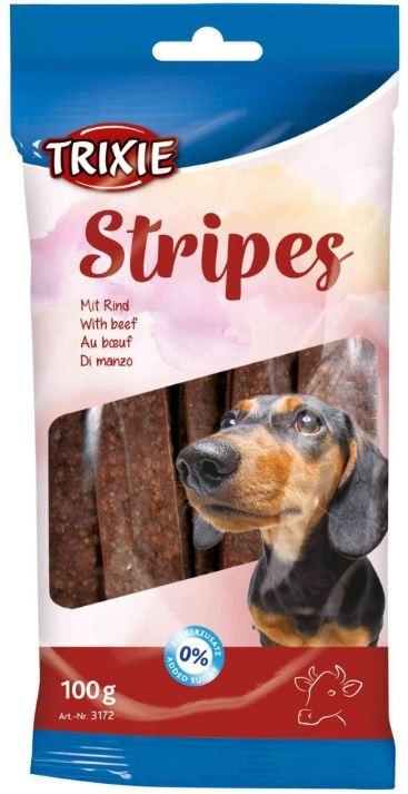 Stripes - Snack al manzo per cani