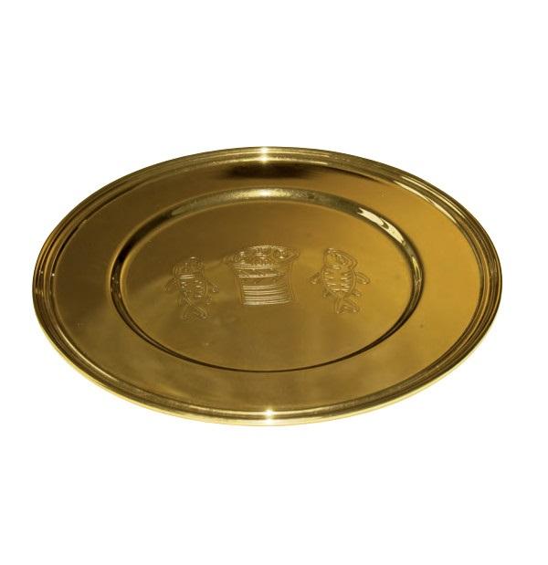 Vassio da offerta mis. 30 finitura oro