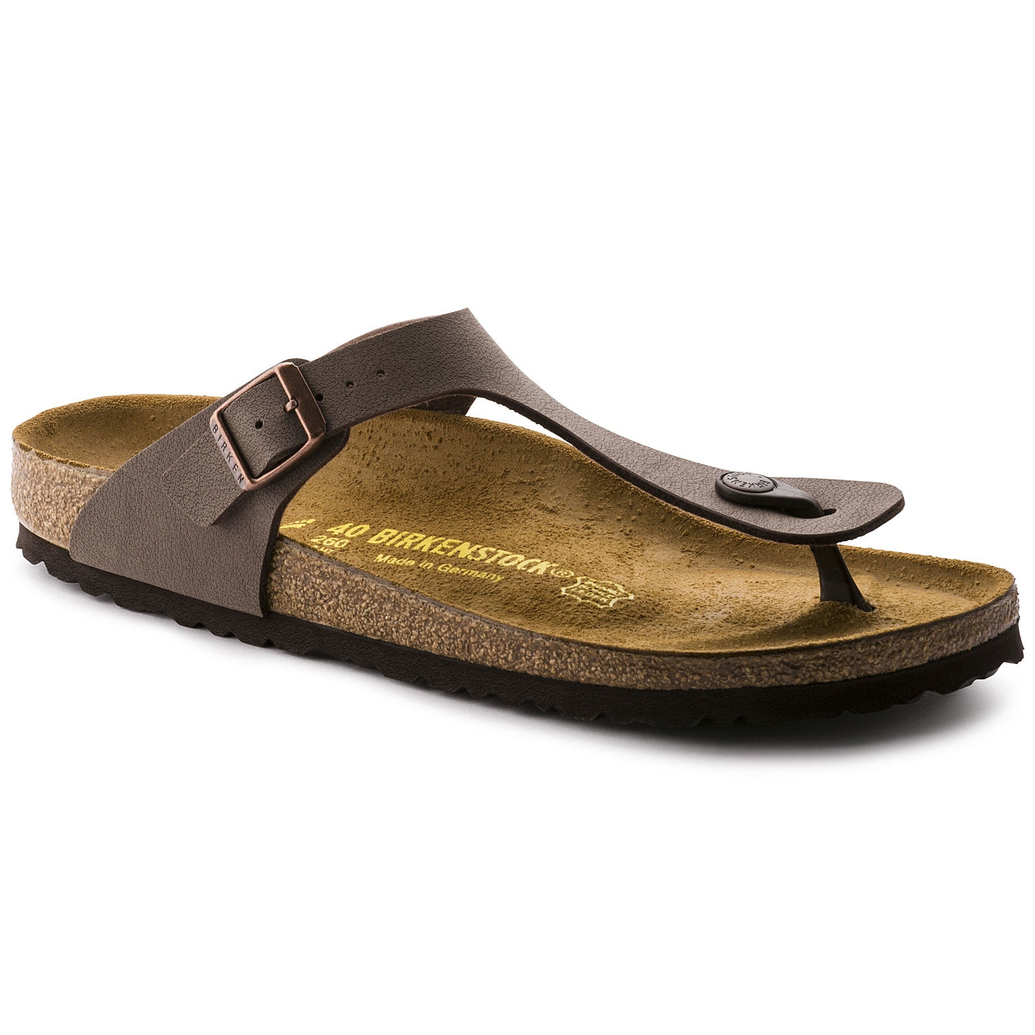 Infradito Unisex BIRKENSTOCK GIZEH BS MOCCA