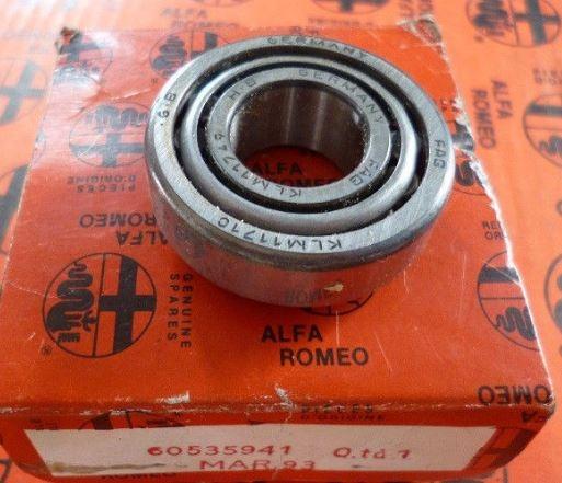 Cuscinetto ruota anteriore esterno Alfa 33 60535941, EK-LM11749/EK-LM11710