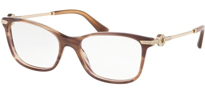 Bulgari - Occhiale da Vista Donna, Striped Brown  BV4173-5240  C51