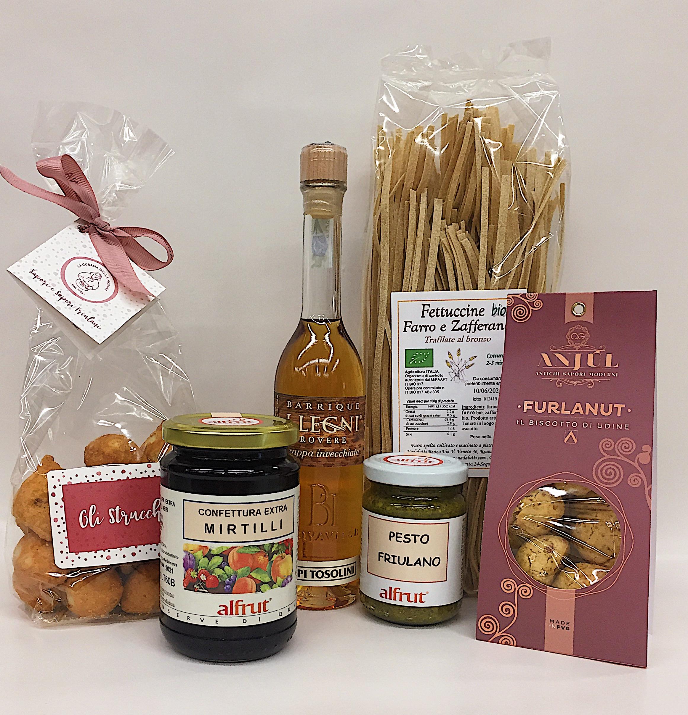Mix prodotti dal Friuli - Confezione degustazione