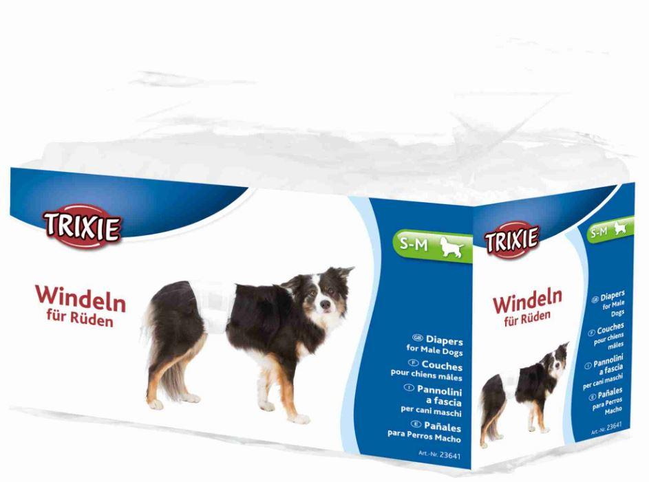 Pannolini a fascia per cani maschi S-M