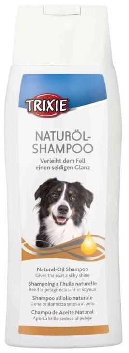 Shampoo all'olio naturale per cani