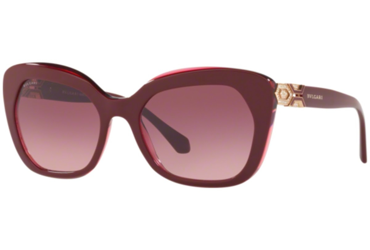 Bulgari - Occhiale da Sole Donna, Burgundy/Burgundy Shaded  BV8213-5469/8H  C55