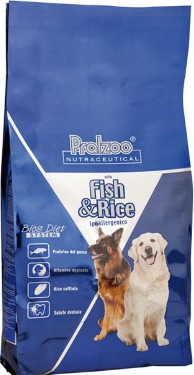 Pralzoo - Pesce e Riso da 12 Kg