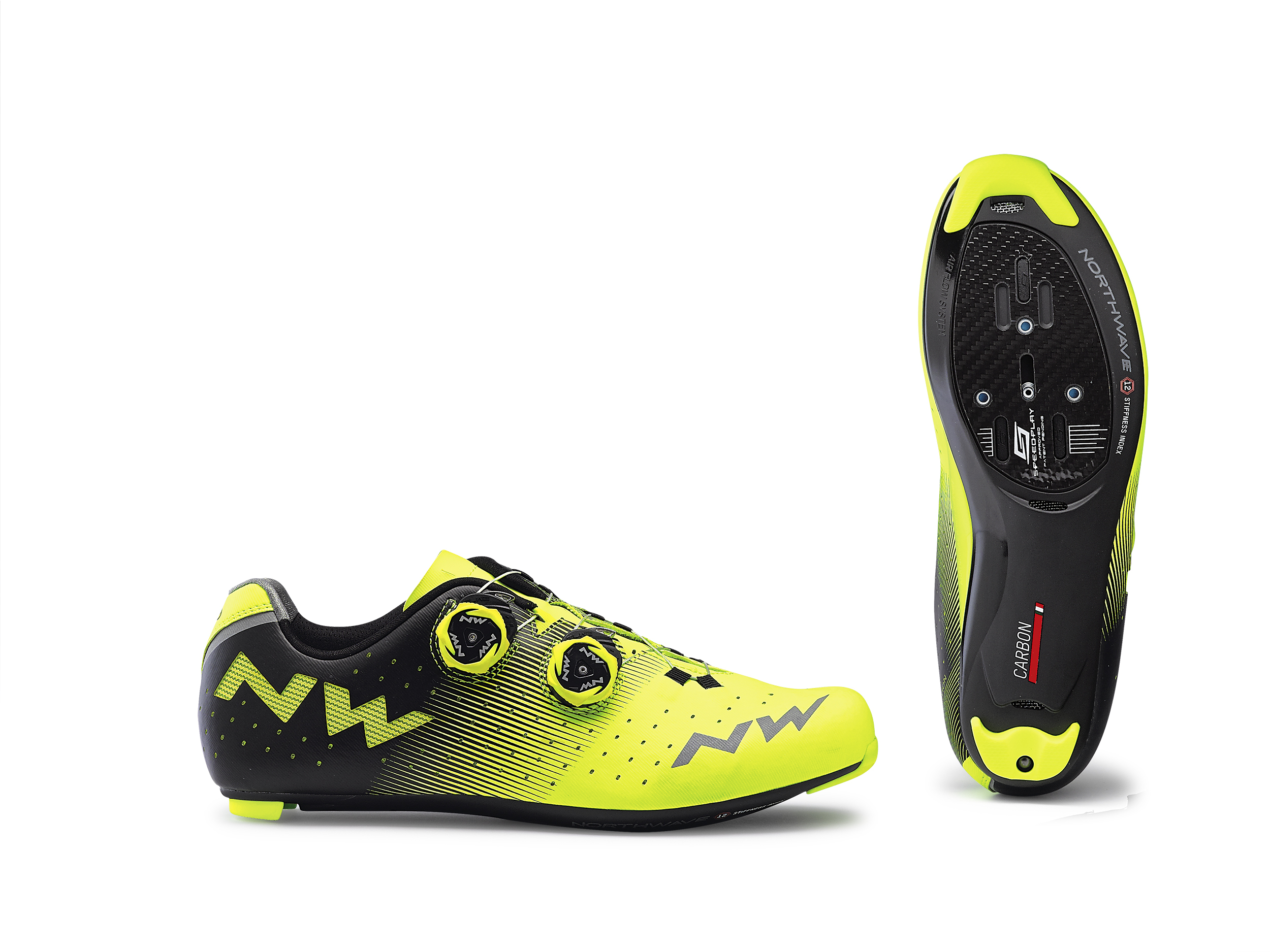 NORTHWAVE Male Revolution Color Yellow Fluo/Blk