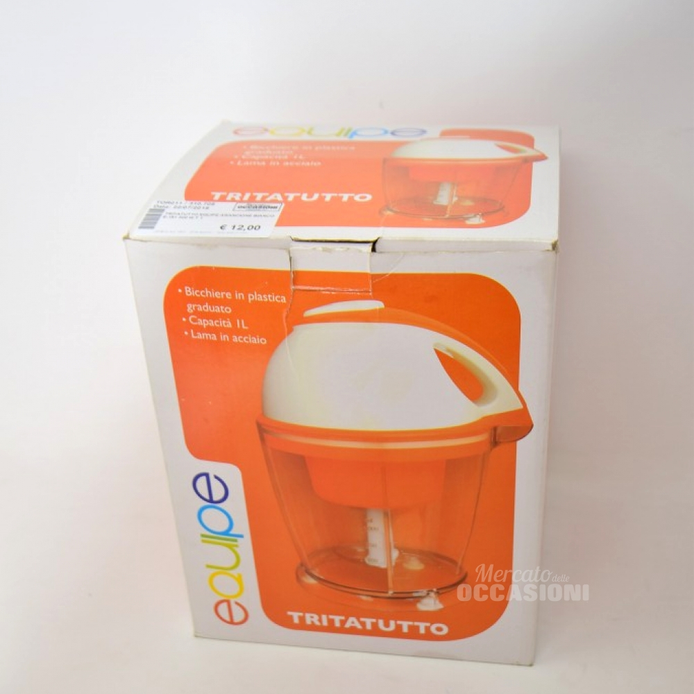 Tritatutto Equipe Arancione Bianco E-191 300 W