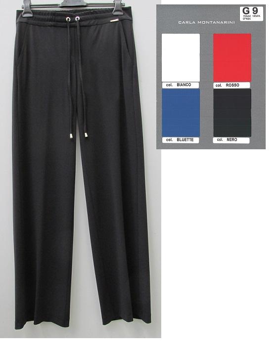 Pantalone tasche davanti vita con coulisse